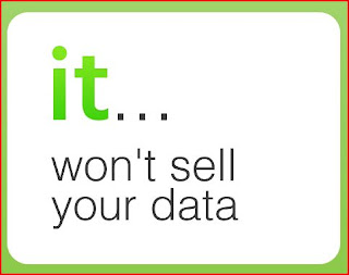 It won't sell your data