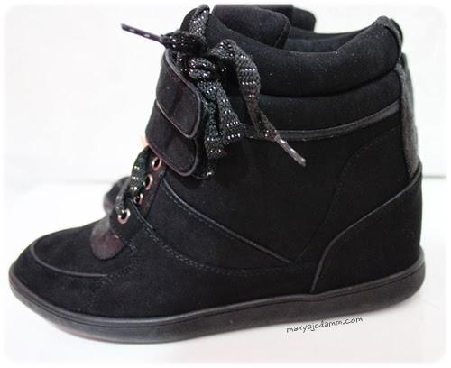 bershka gizli topuk ayakkabı