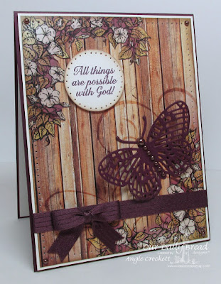 ODBD Custom Fancy Fritillary Die, ODBD Rustic Beauty Paper Collection, ODBD Ornate Border Sentiments, Card Designer Angie Crockett