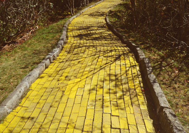 Yellow Brick Road in North Carolina
