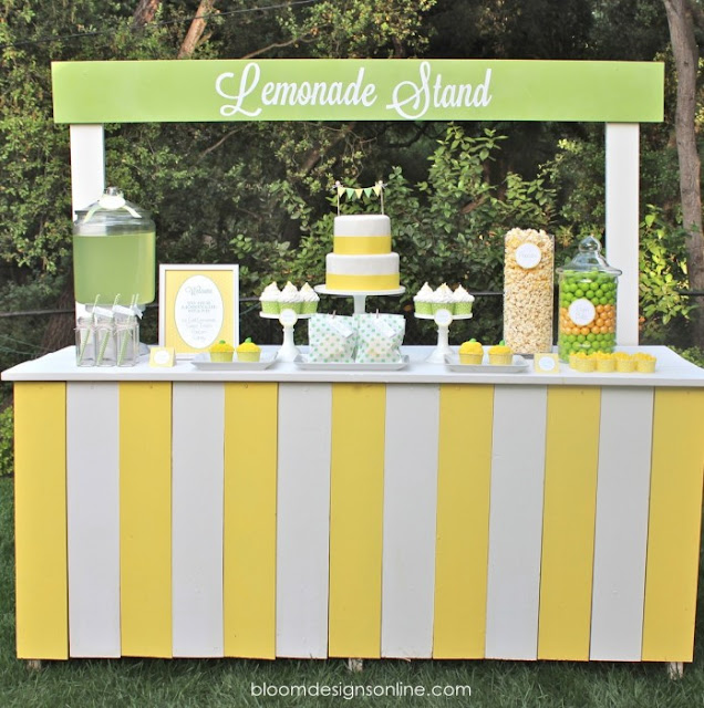 Candy bar con limonada