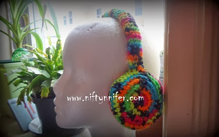 BEST CROCHET 2014   Blog Archive   CROCHETED EAR MUFF