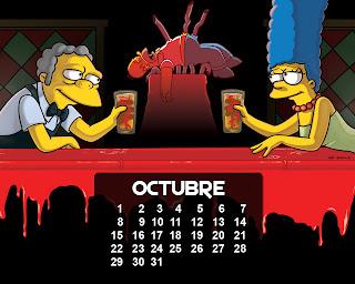 calendario_los_simpson_octubre