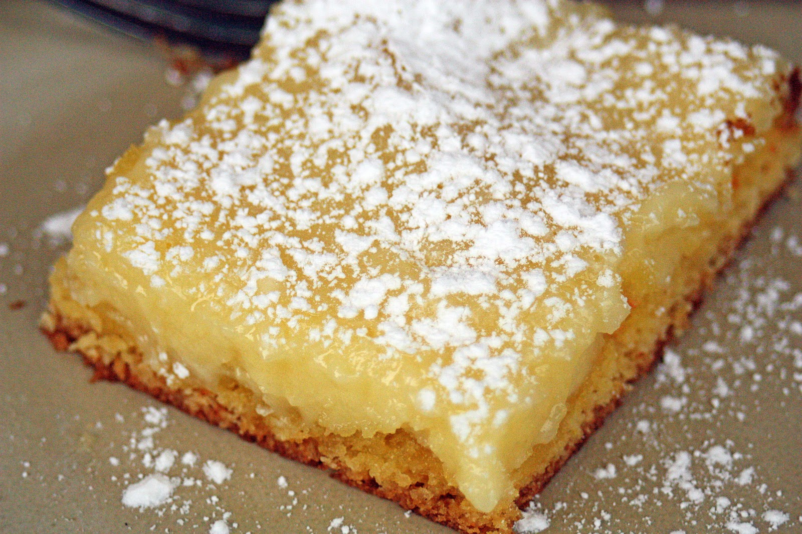 Just A Spoonful Of Gooey Butter Cake