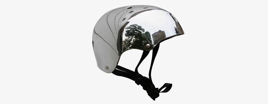 Bobbin Silver Helmet