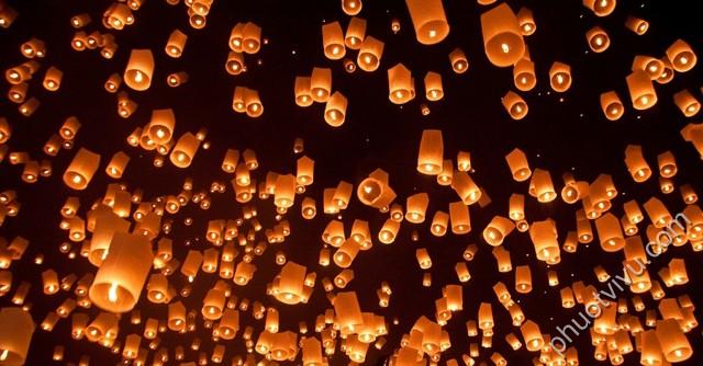 Lễ hội Loy Krathong Thái Lan