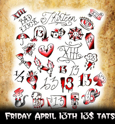 Inkslinger for Friday the 13th tattoo specials near me