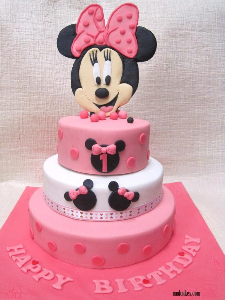 Birthday Cake Images Cool Cakes Minnie+Mouse+Birthda