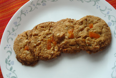 eggless oats dry fruit cookies