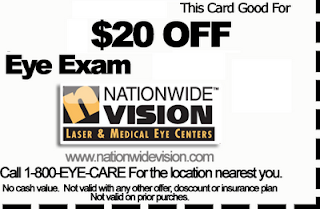 Dig Up Eye Exam Coupon For More Lucrative Measures And Best Deals