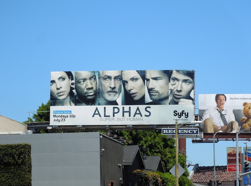 Alphas season 2 Syfy billboard