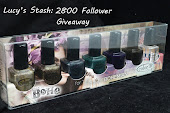 Lucy's stash: 2800 follower giveaway!