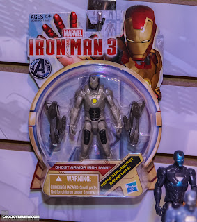 Hasbro 2013 Toy Fair Display Pictures - Iron Man 3 - Assemblers - Ghost Armor figure