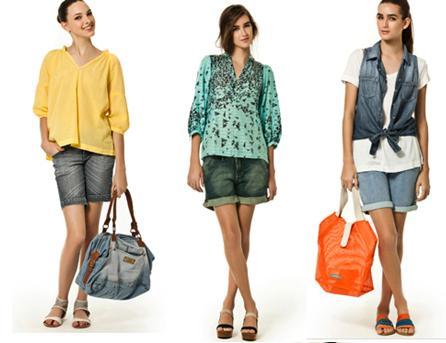 Bermudas na moda