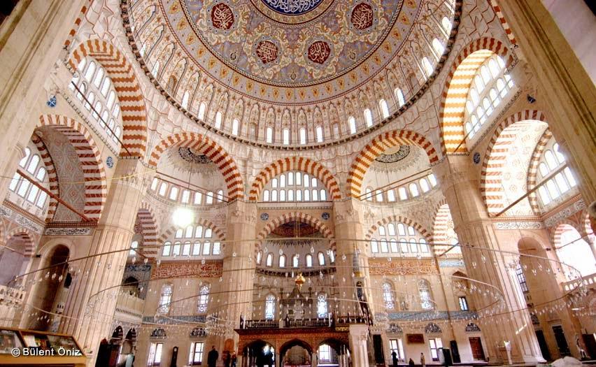 Selimiye Camii İçi
