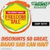 Amazon Great Freedom Sale August 10-12
