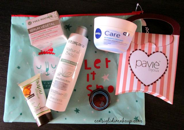 mybeautybox dicembre 2015 prodotti