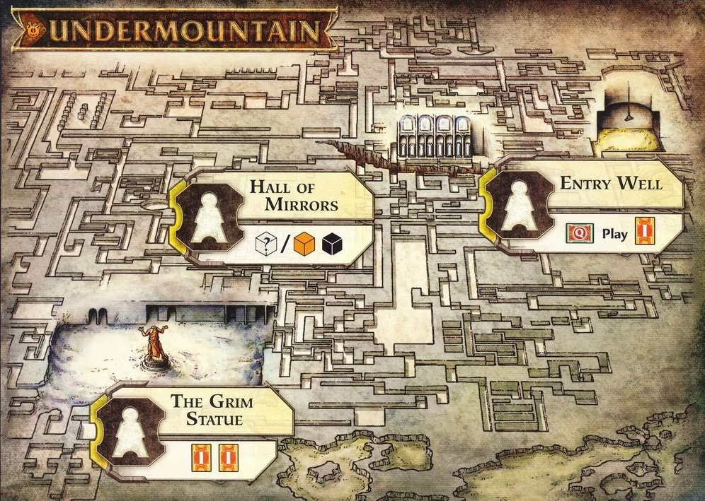 Scoundrels of Skullport Undermountain Board