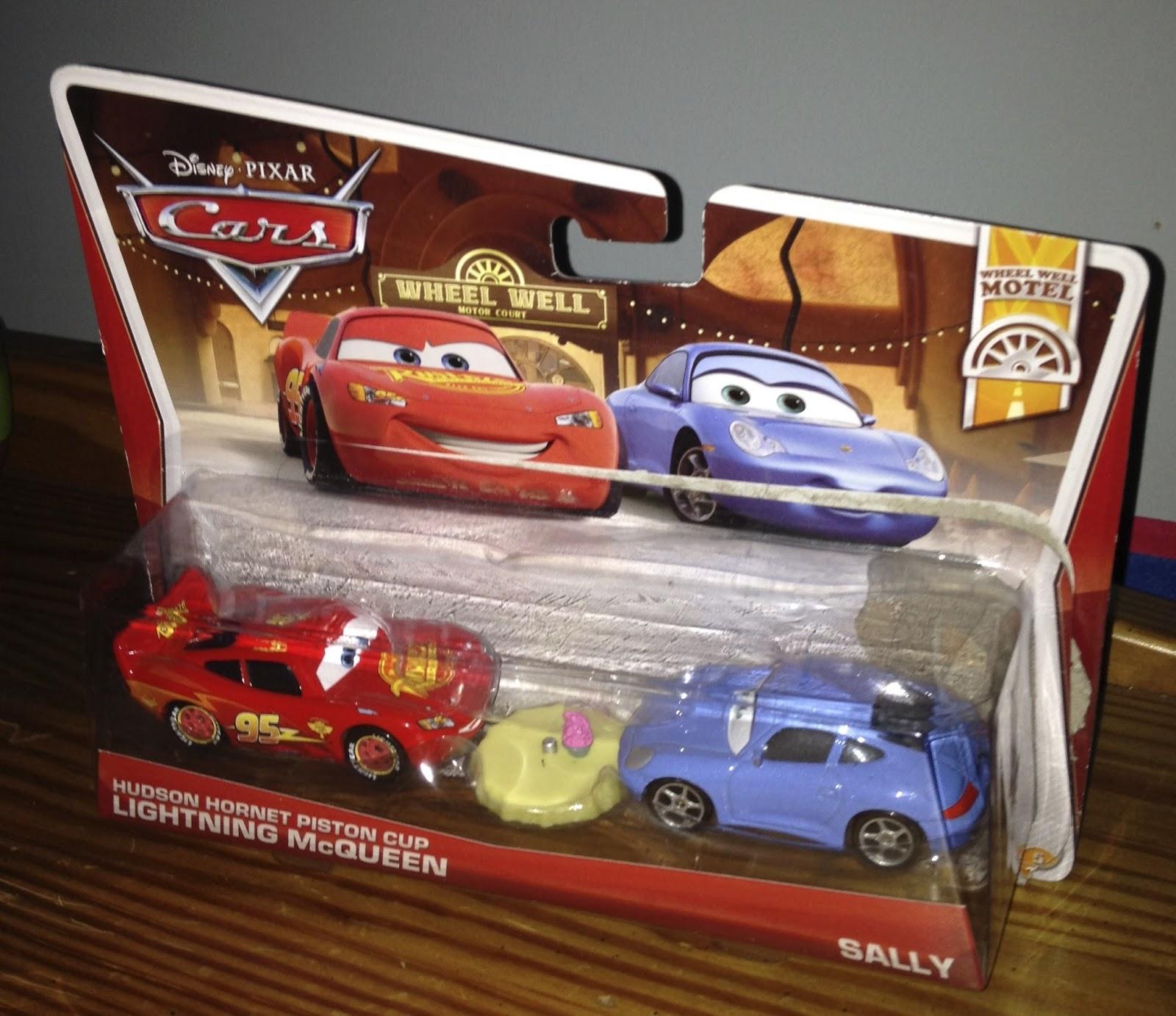 Dan The Pixar Fan Cars 2 Hudson Hornet Lightning Mcqueen Sally 2