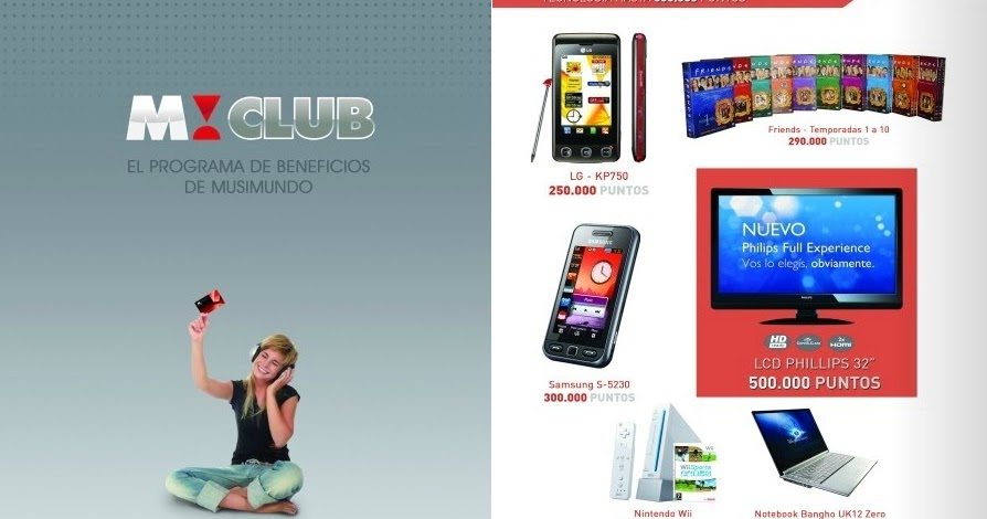 Catalogos Online Catalogo De Premios Musimundo Club 2012