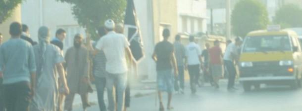 La police utilise les balles de chevrotines à Sousse