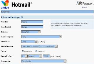 Como eliminar una cuenta de correo Hotmail