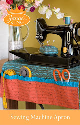 Sewing Machine Apron/Pincushion PATTERN