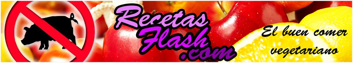 Recetas Flash - Recetas de cocina vegetariana y recetas veganas