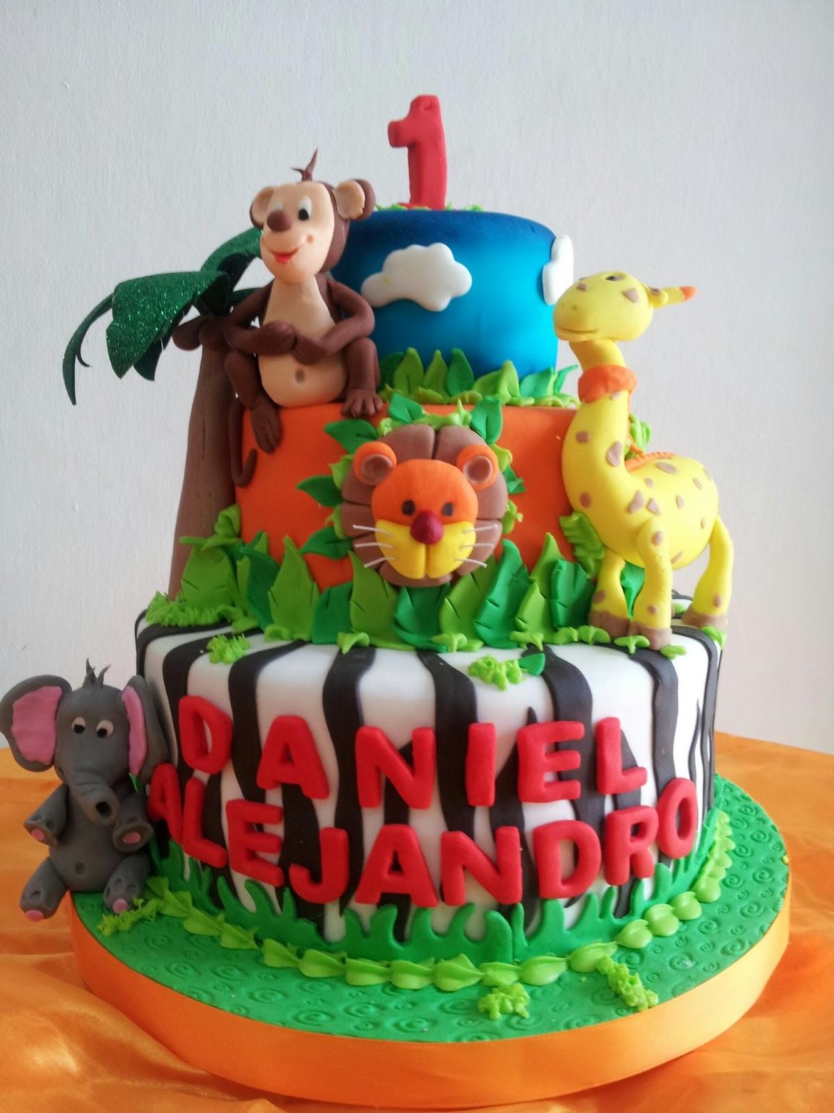 Joan Pinto Cake: Animalitos de la Selva