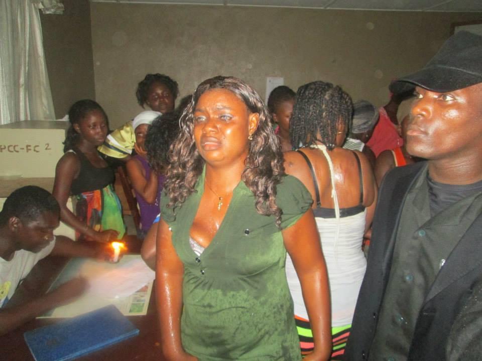 Girls in Liberia
