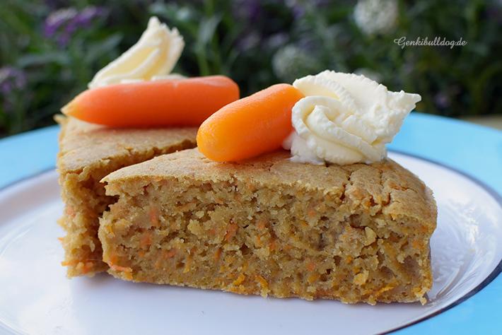 Karottenkuchen Rezept für Hunde