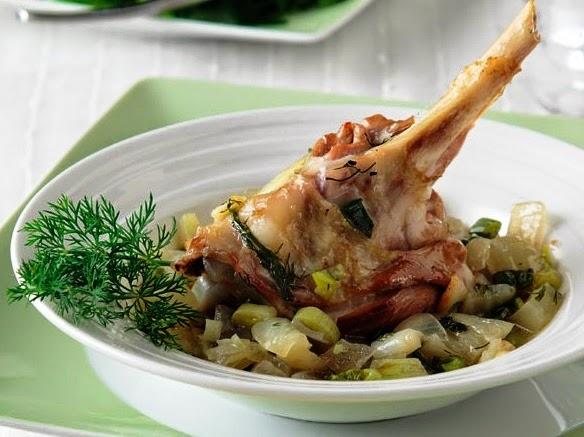 Lamb with fennel, Mediterranean Diet, The Cretan Diet,