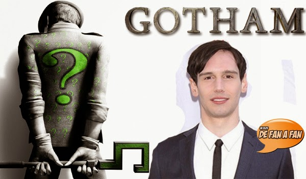 "Cory Michael Smith sera Edward Nygma en ""Gotham"""