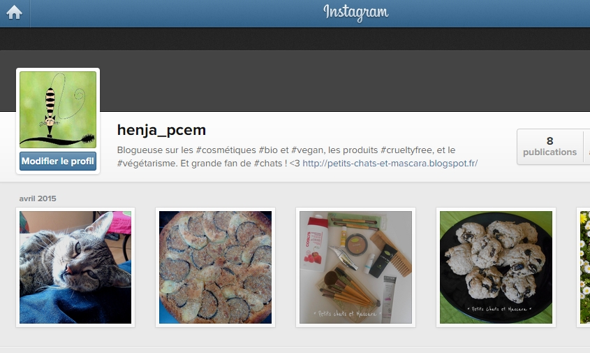 instagram petits chats mascara