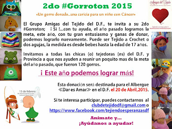 2do Gorroton RECEPCION HASTA EL 20 DE ABRIL