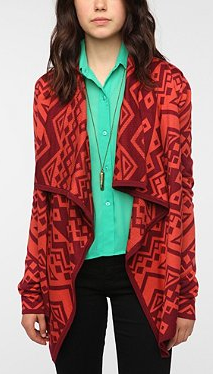 Staring at Stars Array Cardigan red