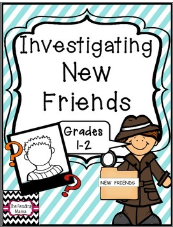 http://www.teacherspayteachers.com/Product/Investigating-New-Friends-Grades-1-2-1371287