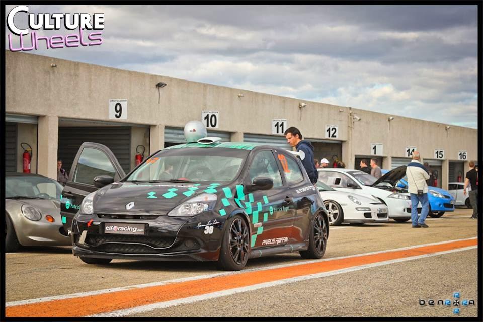 Renault Clio RS - Circuit de Lédenon - Objectif Circuit