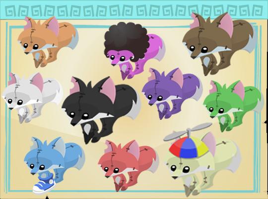 March Of The Phantoms Lukeila S Animal Jam Blog Plushies