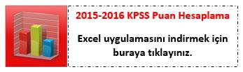 2016 Kpss Puan Hesap Tahmin Uygulaması