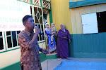 A. Mawardi Sedang memberikan Sambutan penutupan acara WISUDA SPS AN-NUR