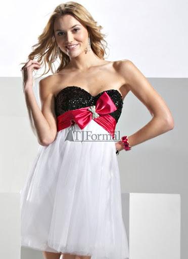 къса рокля с ефирна пола