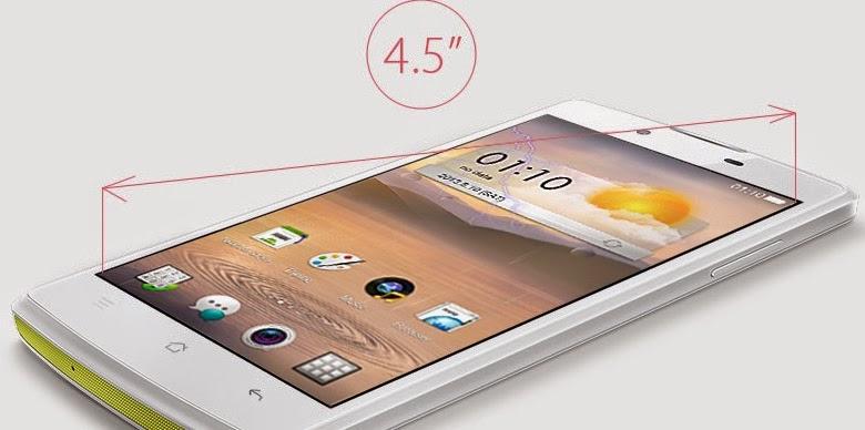 OPPO Neo layar 4.5 inch