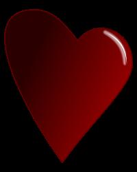 Icono de amor sin copyright Corazn granate