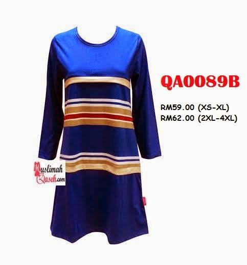 T-Shirt-Muslimah-Qaseh-QA0089B