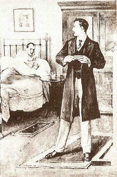Su último saludo en el escenario - Arthur Conan Doyle