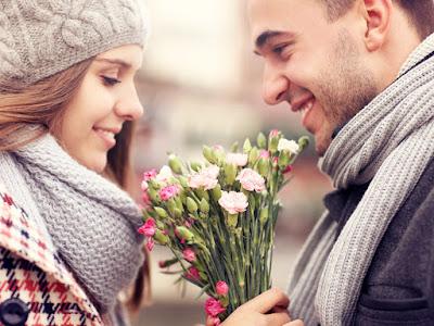 fotos de enamorados con tulipanes