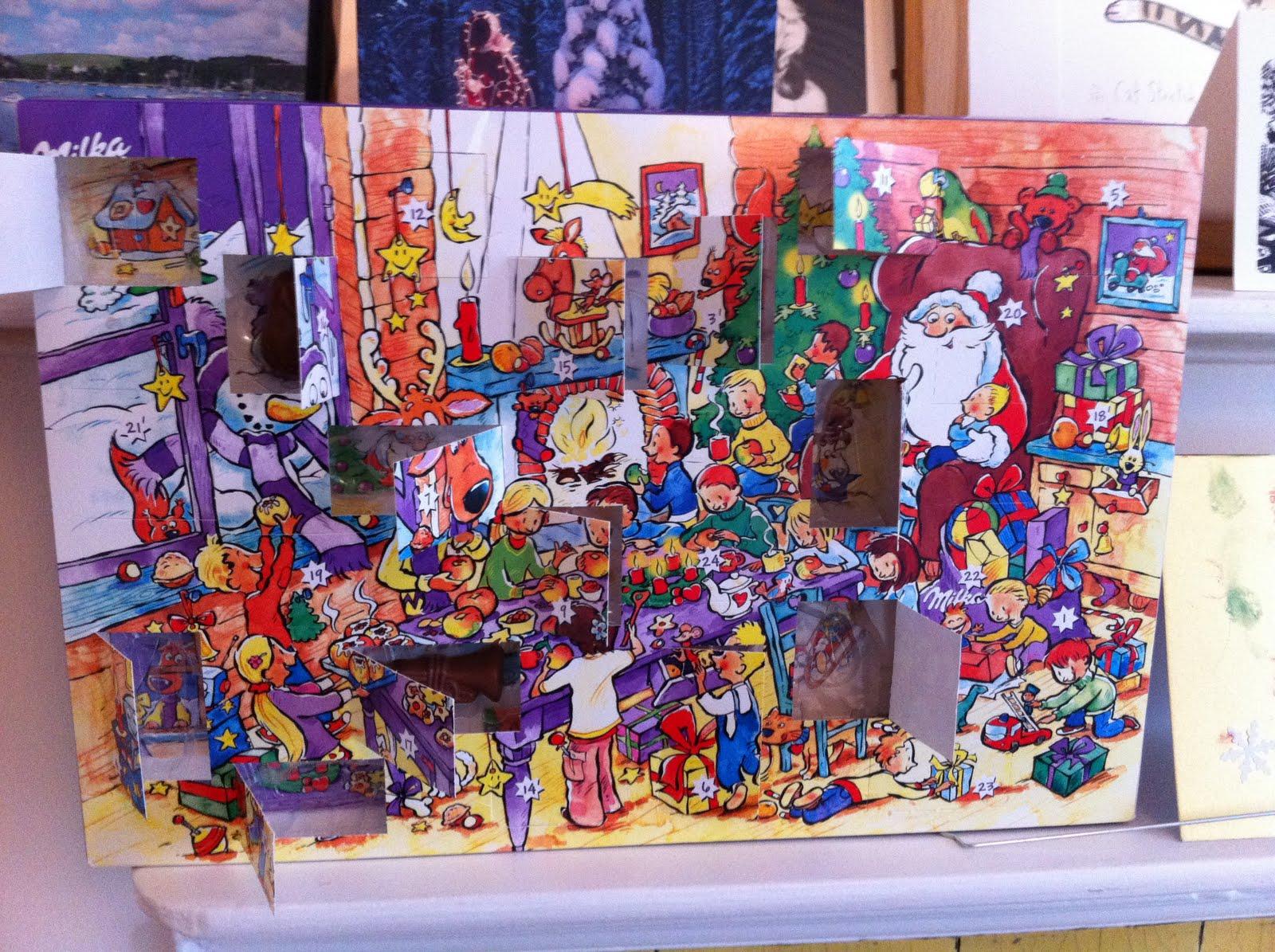 Hils Barker: Advent calendar