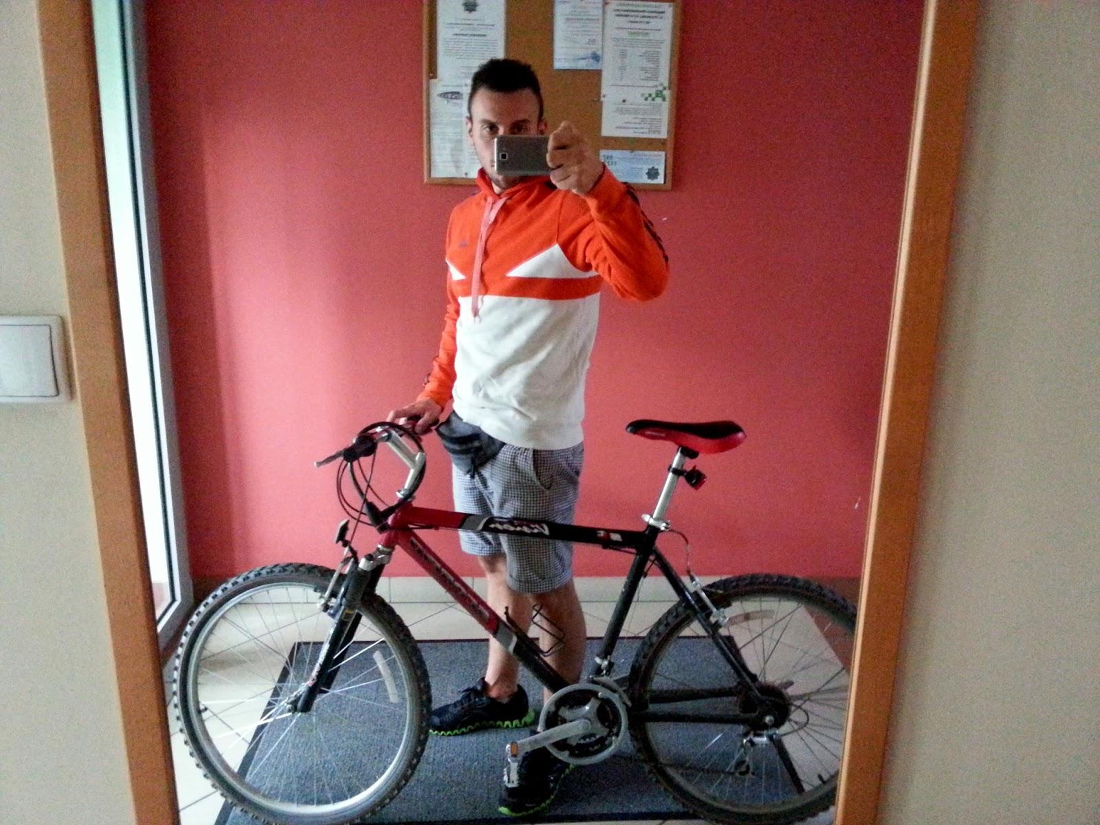 selfie rowerowe
