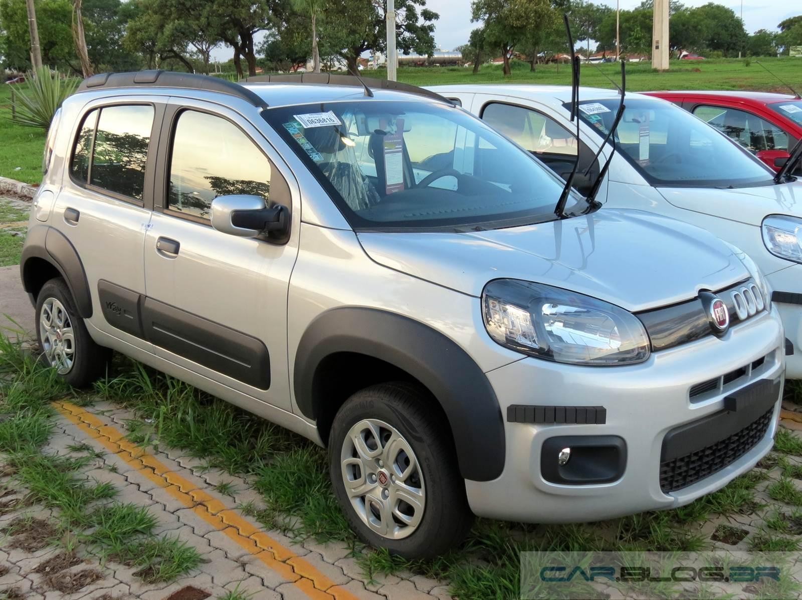 Novo Fiat Uno Way 2015 - preço
